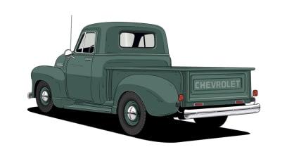 Historie pickupů od Chevroletu. 8