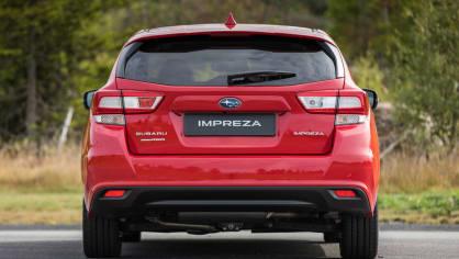 Nové Subaru Impreza je prostorný hatchback. 4
