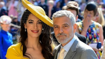 Manželé George a Amal Clooneyovi