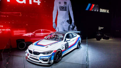 Novinky BMW na stánku ve Frankfurtu. 7