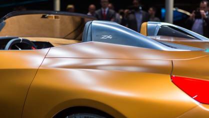 Působivé koncepty BMW na stánku ve Frankfurtu 2