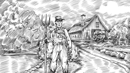 Najdete farmářovu ženu?