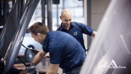 Revoluce v servisech Volvo - nechte se hýčkat 8