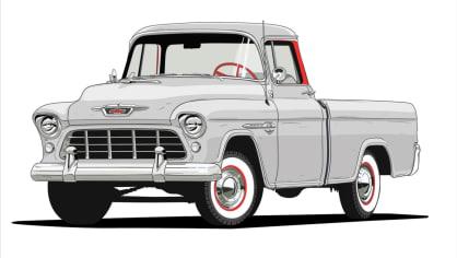 Historie pickupů od Chevroletu. 9