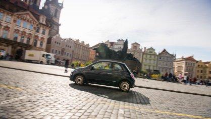 Fiat 500 1.4 16v ve městě 3