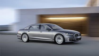 Nové Audi A8 v prodloužené luxusní verzi L. 12