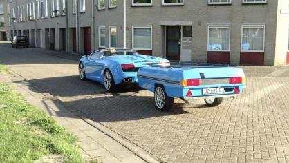 Lamborghini Gallardo s přívěsem 4