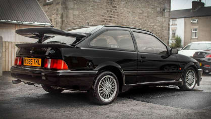 Ford Sierra RS500 Cosworth je vyhledávaná rarita. 4