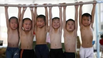 Takto se trénuje na sportovní univerzitě v Šanghaji