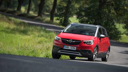 Opel Crossland X jízda 15