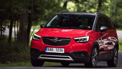 Opel Crossland X jízda 6