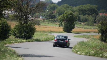 BMW 530i E60 jízda 17