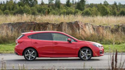 Nové Subaru Impreza je prostorný hatchback. 5
