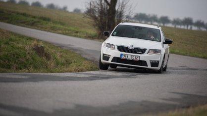 Škoda Octavia RS TDI jízda 9