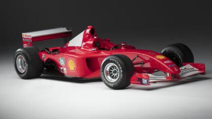Ferrari F2001 no.211 9
