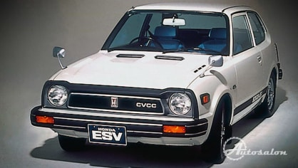 Honda Civic CVCC ESV Gen 1