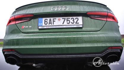 Audi RS5 - zelená, kterou budou zelení nenávidět 10