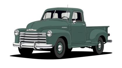 Historie pickupů od Chevroletu. 7