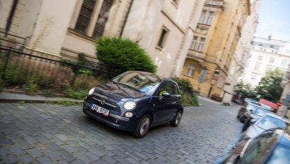 Fiat 500 1.4 16v ve městě 4