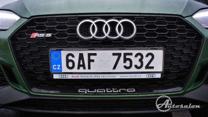 Audi RS5 - zelená, kterou budou zelení nenávidět 13