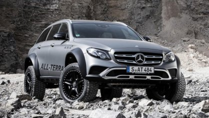 Mercedes E All-Terrain 4x4^2 7