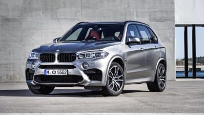 4. BMW X5M - 4,2 sekundy, osmiválec 4.4 litru, 423 kW, 750 Nm