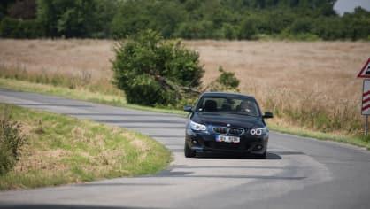 BMW 530i E60 jízda 10