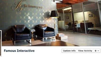 Zajímavé profilovo-úvodní fotky mají i firmy.