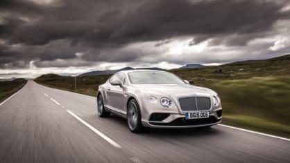4. Bentley Continental GT