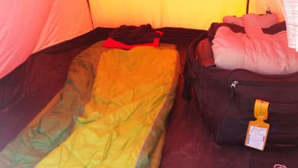 Mobilní ložnice na Rallye Dakar