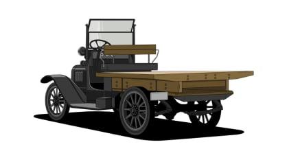 Historie pickupů od Chevroletu. 2