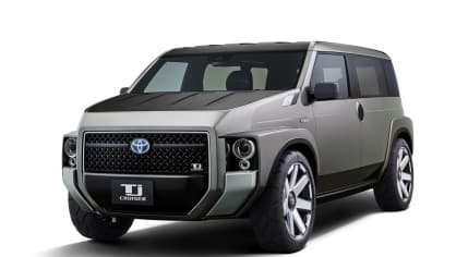 Dodávka i SUV. Toyota Tj Cruiser Concept. 1