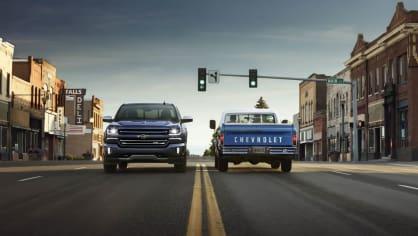 Chevrolet Colorado a Silverado ve výroční edici Centennial. 9