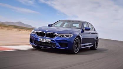 BMW M5 2018, 1