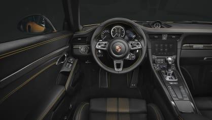 Zlaté Porsche 911 Turbo S Exclusive 5