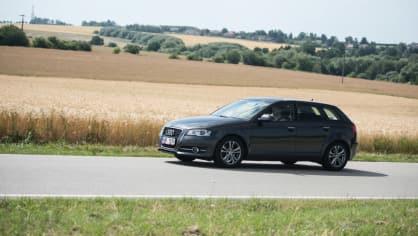 I s naftovým Audi A3 se solidně svezete. 10