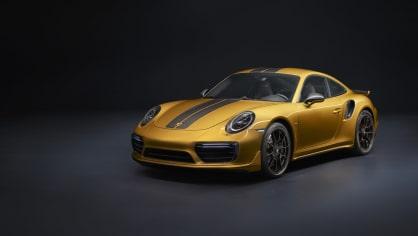 Zlaté Porsche 911 Turbo S Exclusive 11