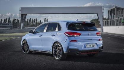 Prohlédněte si ostrý hatchback Hyundai i30 N do detailu. 3