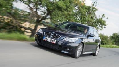 BMW 530i E60 jízda 13
