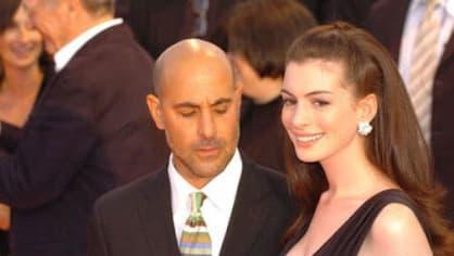 Stanley Tucci a Anne Hathaway