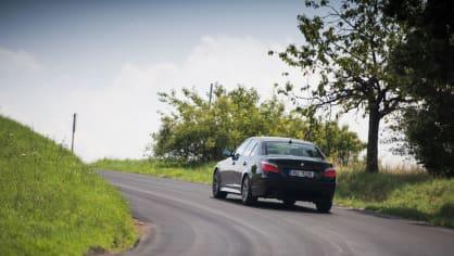 BMW 530i E60 jízda 4
