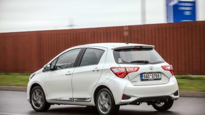 Toyota Yaris 1.5 VVT-iE jízda 5