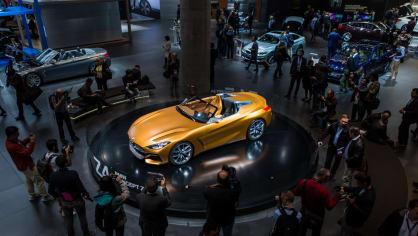 Působivé koncepty BMW na stánku ve Frankfurtu 8