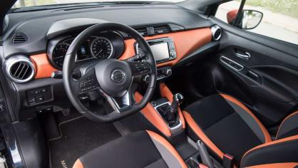 Nissan Micra 0.9 IG-T interiér 3