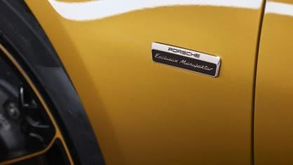Zlaté Porsche 911 Turbo S Exclusive 7