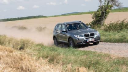 BMW X3 xDrive20d jízda 16