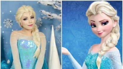 Princezna Elsa z Ledového království