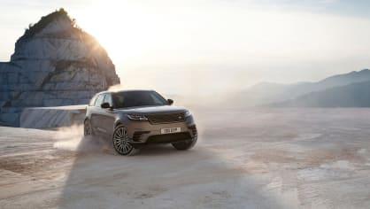 Uhlazené linie Range Roveru Velar. 6