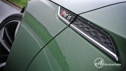 Audi RS5 - zelená, kterou budou zelení nenávidět 12