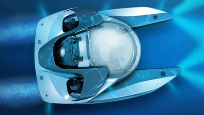 Aston Martin nabízí luxusní jachtu AM37 i ponorku Neptune. 1